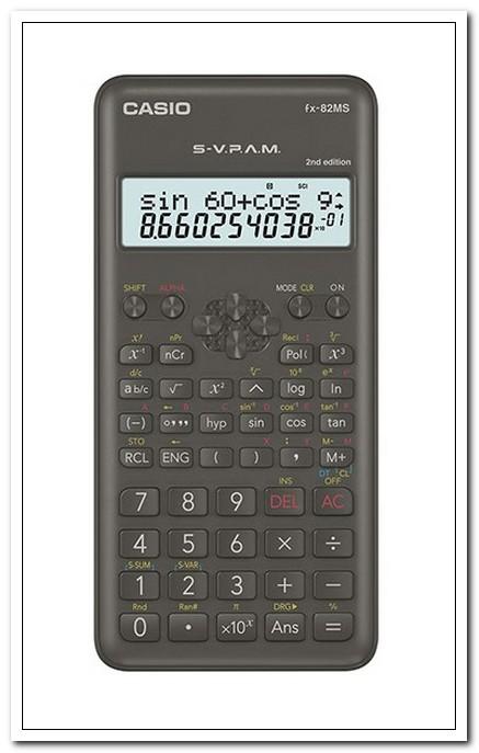 Калькулятор научный CASIO 10-разряд., черный