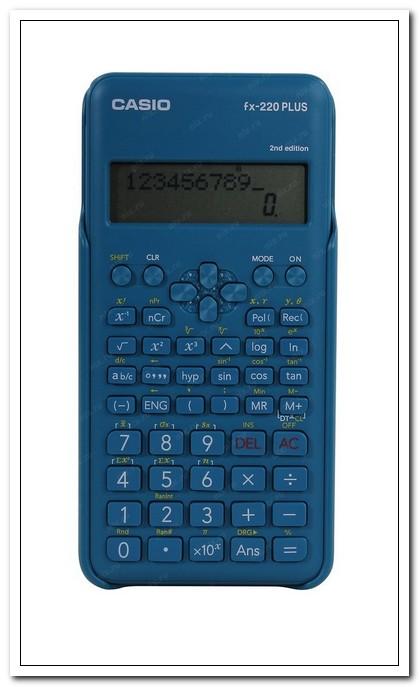 Калькулятор научный CASIO 10+2-разряд., синий