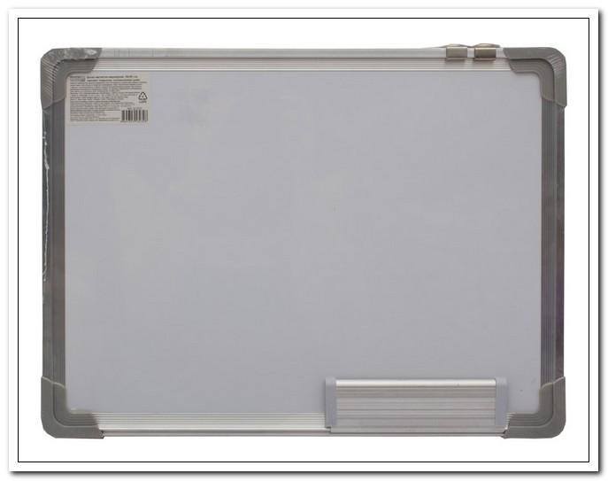 Доска магн-марк. 45*60 лаковое покрытие, алюм.рамка