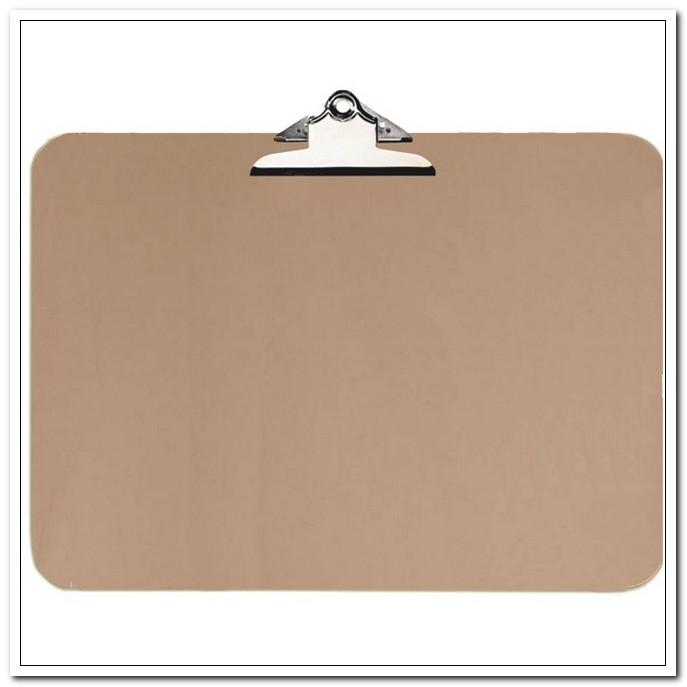 """Доска-планшет А3 МДФ с усилен.прижимом, коричневый """"deVENTE.Nature"""" горизонтал."""