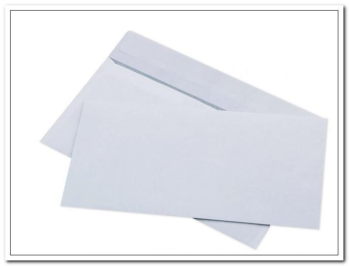 Конверт E65 (110*220) белый, отрыв.лента, внутр.запеч., 80г/м2, 1000шт/уп (Ряжская печат.фабр0