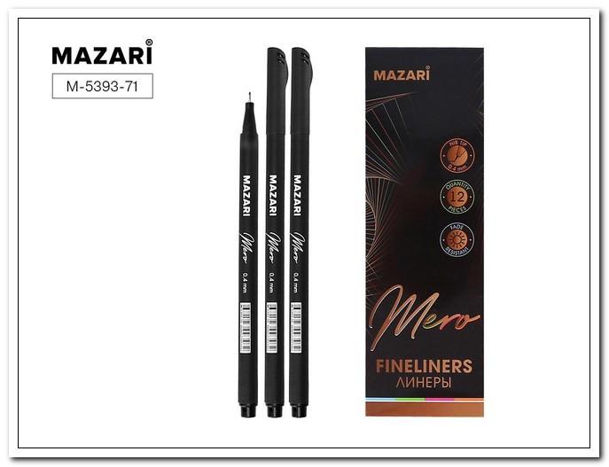 Линер MAZARI MERO черный 0,4мм