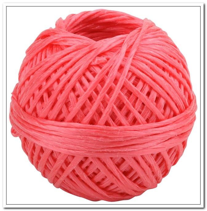 Шпагат полипропиленовый 1,6мм, 50м., 1000 текс, клубок, красный арт. HRP050R/103 934