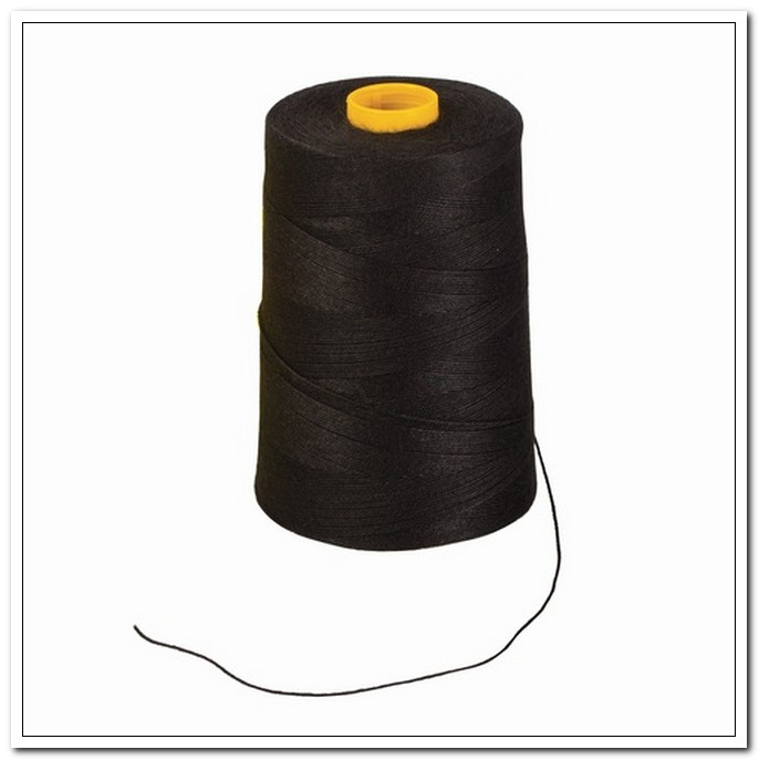 Нить прошивная лавсан черная (1000 м), d=1,0мм, ЛШ 210  арт. 603771