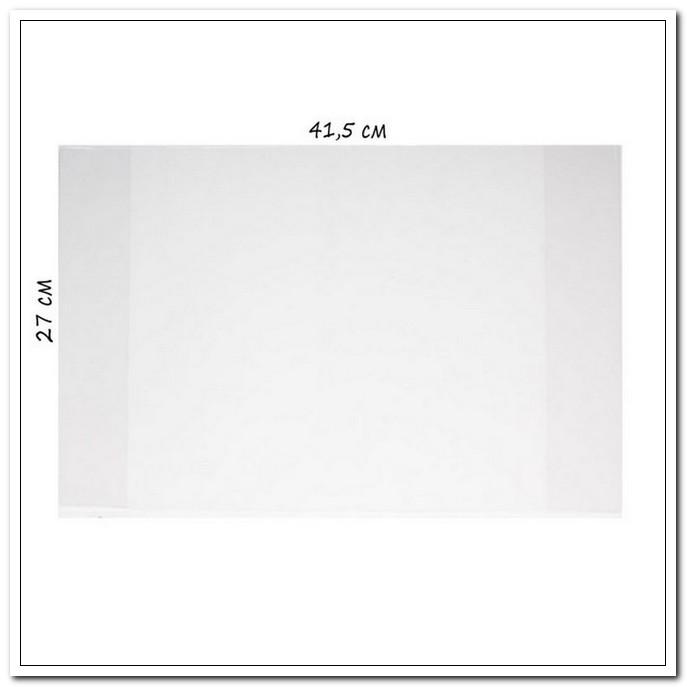 Обложка 267*408мм А4 100мкм  ПВХ для учебников Петерсон 50шт/упак. арт. Д41-17Фпр.