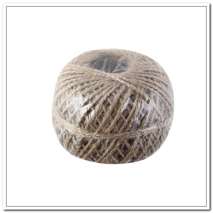 Шпагат джутовый 1,4мм, 100м., 1120 текс, в термоусадочной плёнке арт. 4165101