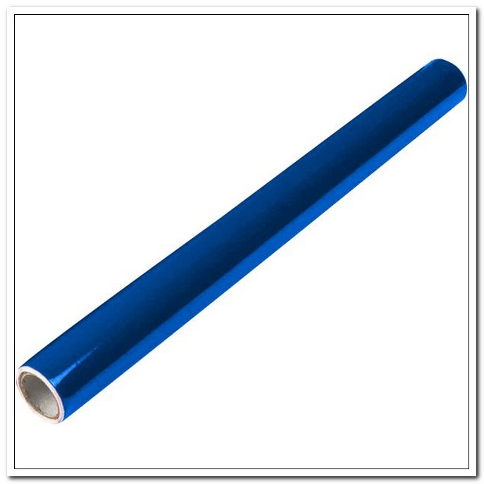 Пленка самоклеящаяся для книг 45*100см, голубой полупрозрачный ПВХ 90мкм, рулоне   арт. 8052101