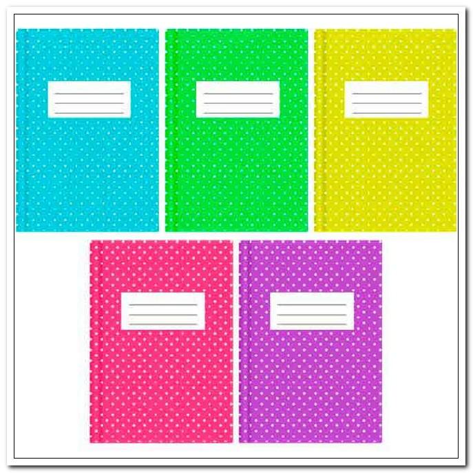 Обложка 355*213 140мкм ПВХ для дневников и тетрадей,инф.карман и вкладыш,непрозрач,Dots (набор 5шт.) арт. 8051103