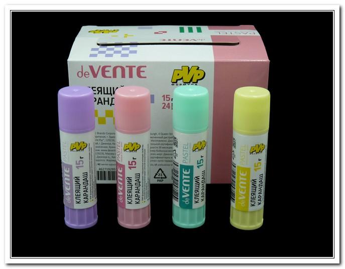 Клей-карандаш 15г на основе ПВА, Pastel арт. 4042060