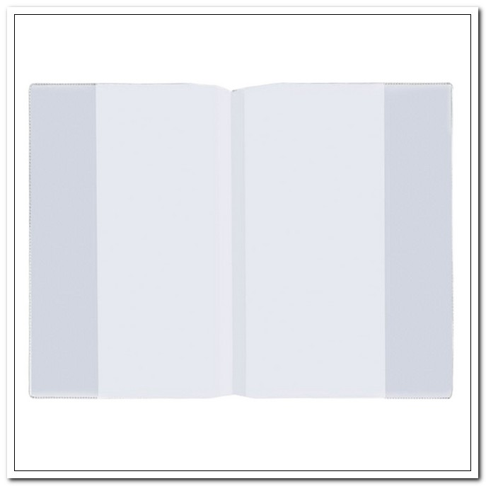 Обложка 286*415мм 100мкм ПВХ для учебников Английского языка Биболетовой. 100шт./упак. арт. 227435
