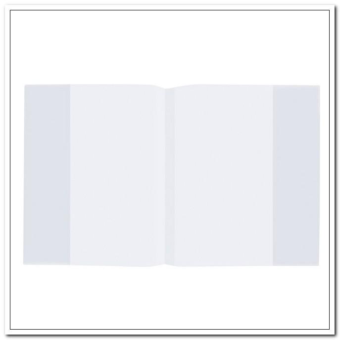 Обложка 210*350 60мкм ПП для тетрадей и дневников, прозрачная, плотная. 100шт./упак. арт. 223075