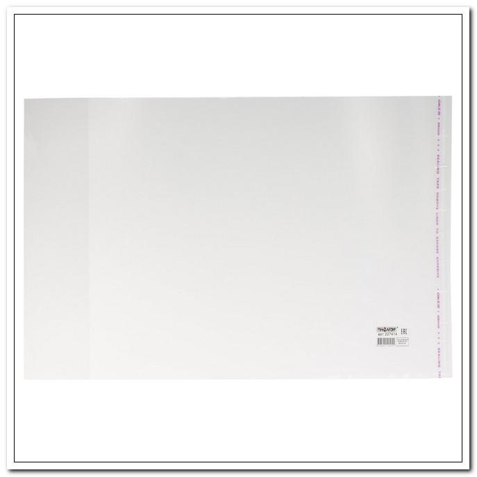 Обложка 250*380 70мкм ПП для учебников, универсальная, клейкий край. 100шт./упак. арт. 227414