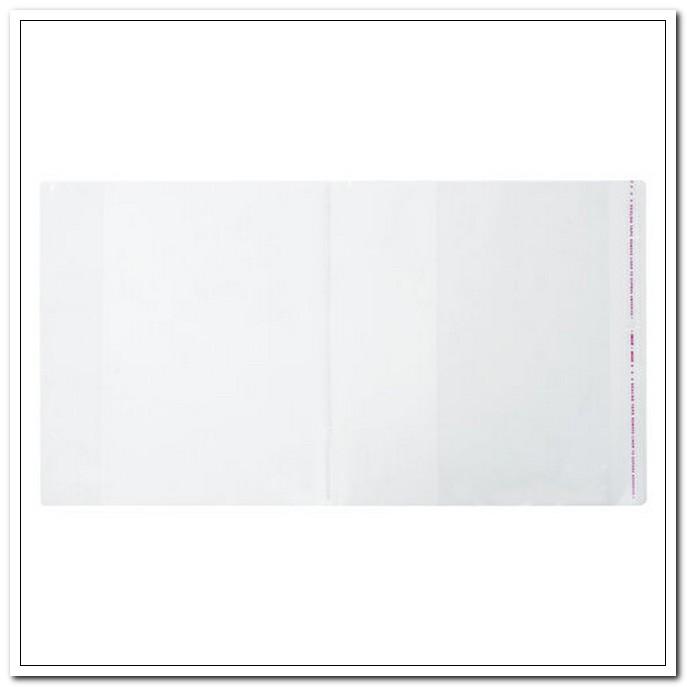 Обложка 265*490мм 80мкм ПП для учебников Петерсон/Моро, с клейким краем. КОМПЛЕКТ 5шт. арт. 229357