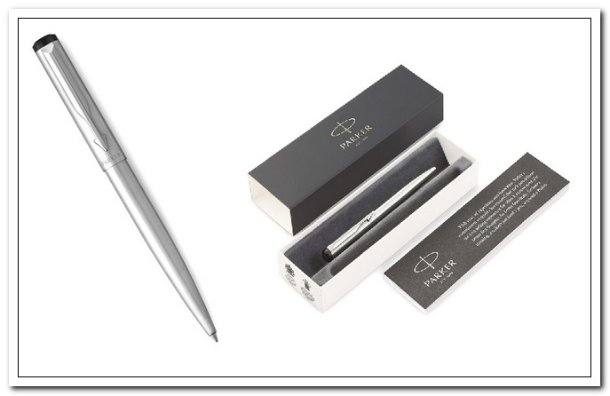 Ручка шар.Parker Vector Limited Edition Stainless Steel CT синяя 1,0 кнопоч., подар.уп.